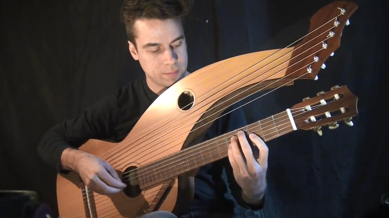 Jamie Dupuis - Harry Potter (Hedwig's) Theme - 18 String Harp Guitar.png