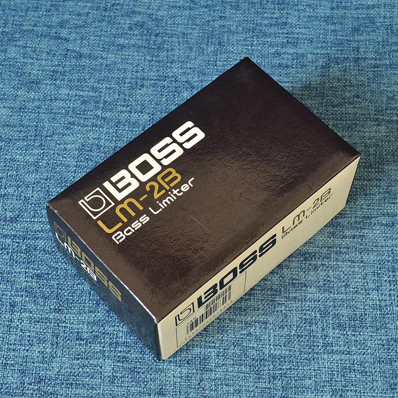 星陨二手效果器BOSSLM-2B贝斯限幅单块某某商店装修施工组织设计图片