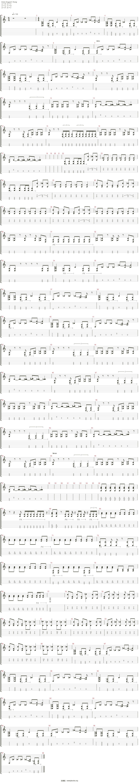 My Turn吉他谱(Electric Guitar)_Black Winter