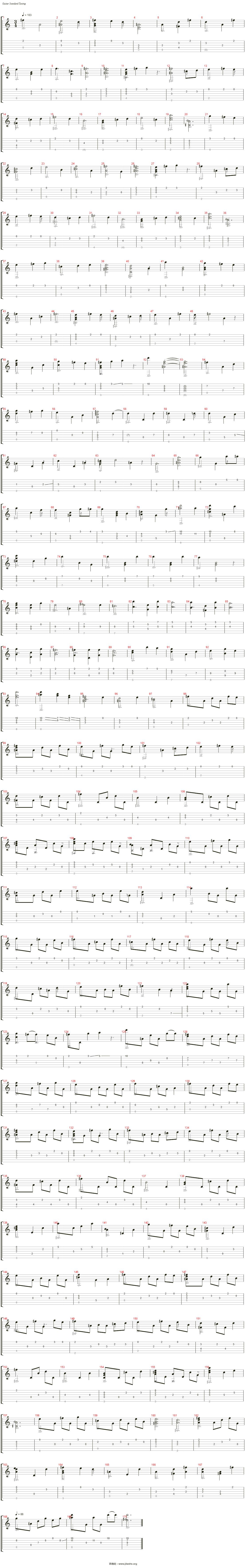 空と風のワルツ吉他谱(Steel Guitar)_押尾桑