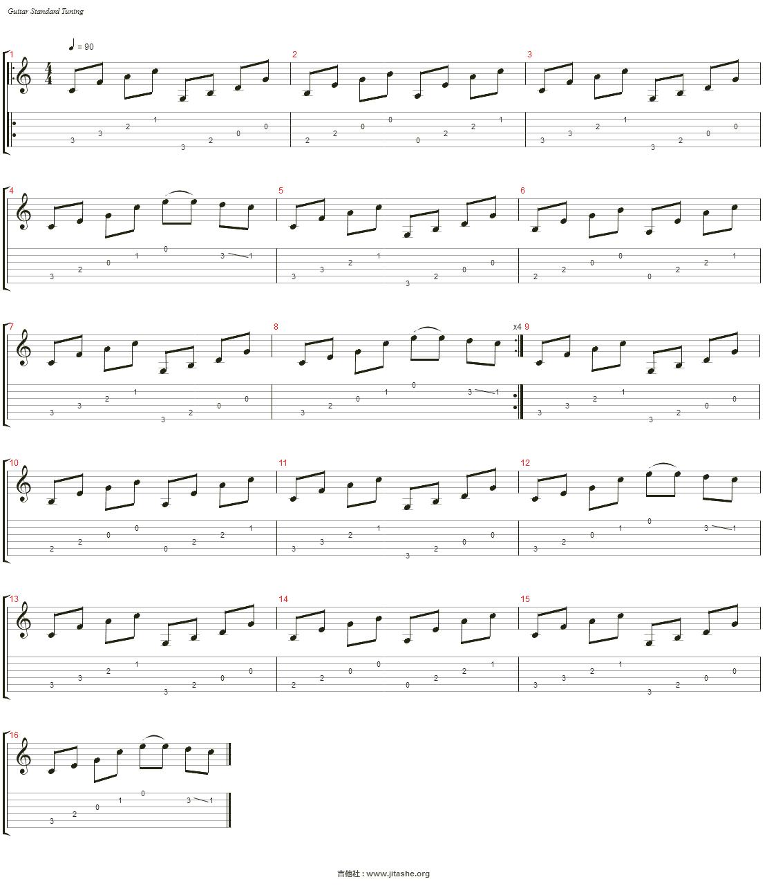 花 が とぶ 飛ぶ(Flower Fly)吉他谱(Steel Guitar)_邱有句
