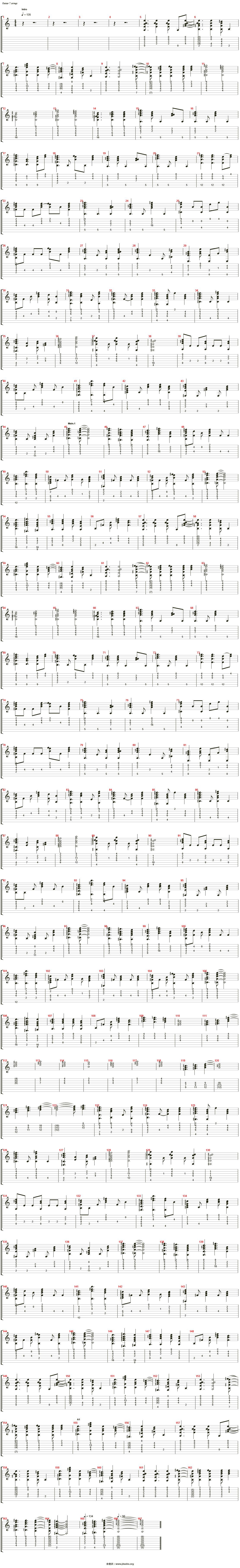 White Album 2 - 届かない恋吉他谱(Piano)_动漫游戏