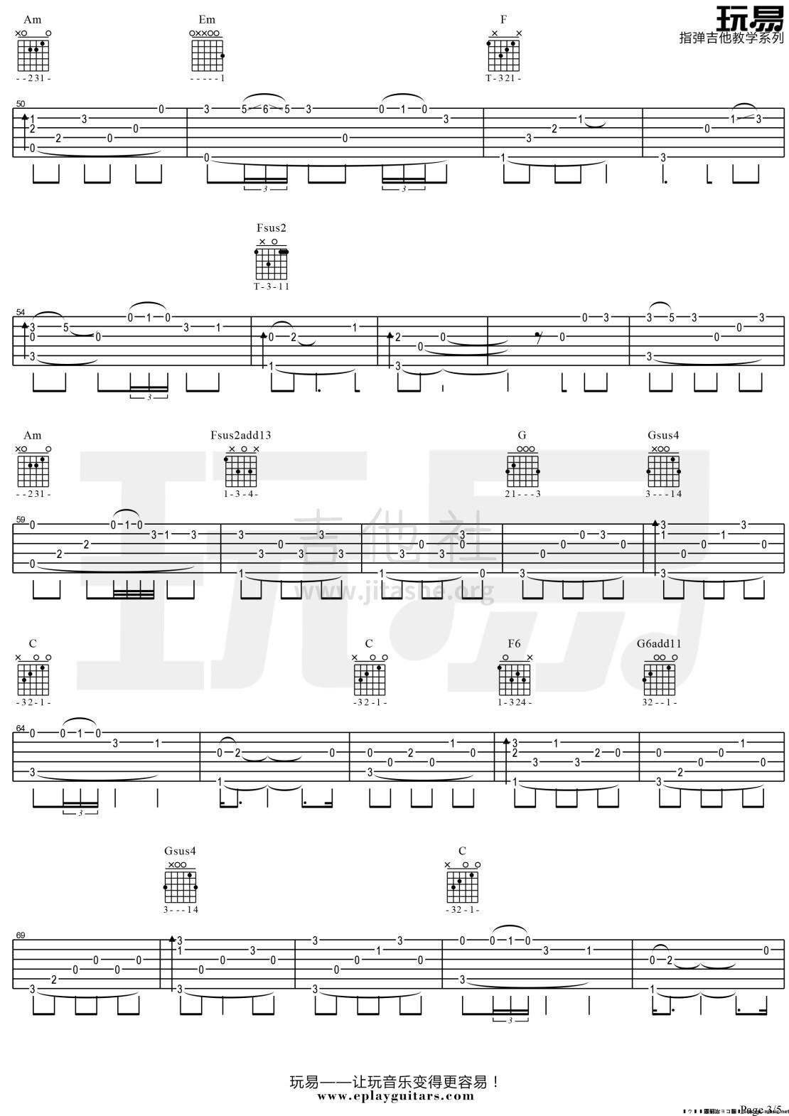 The Immigrant(玩易指弹吉他教学系列)吉他谱(图片谱,指弹,教学,玩易指弹教学)_Joanie Madden(乔妮·梅登)_The  lmmigrant 3.jpg