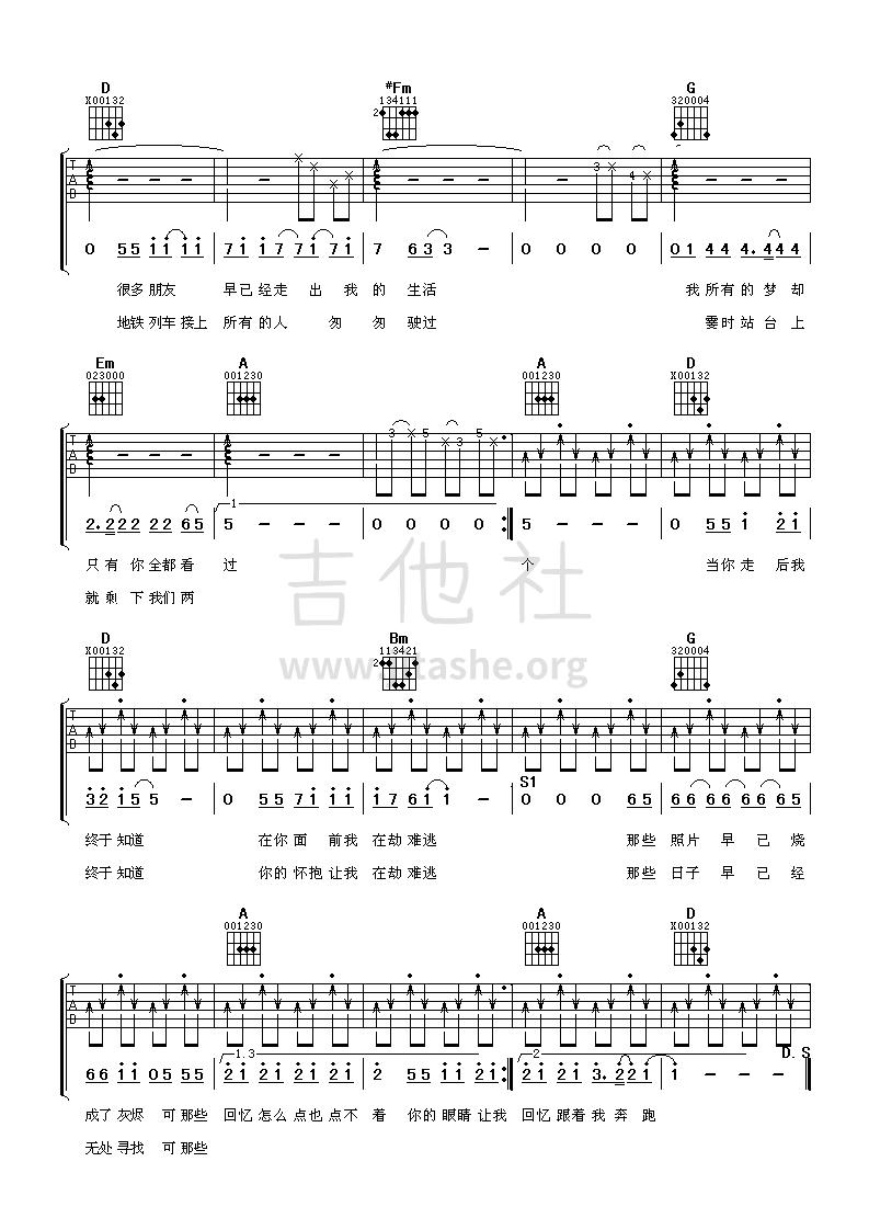 情人劫吉他谱(图片谱,弹唱)_老狼(王阳)_2.png