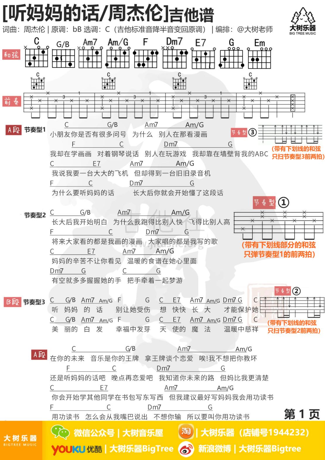 听妈妈的话吉他谱(图片谱,弹唱,伴奏,教学)_周杰伦(Jay Chou)_1111111111111111111111111111111111111111.jpg