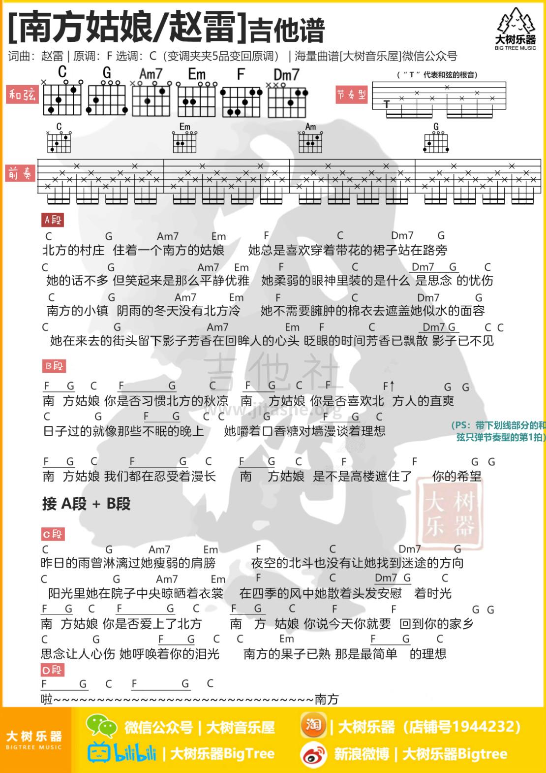 南方姑娘吉他谱(图片谱,弹唱,和弦谱,教学)_赵雷(雷子)_模板_meitu_3_meitu_2_meitu_2.jpg