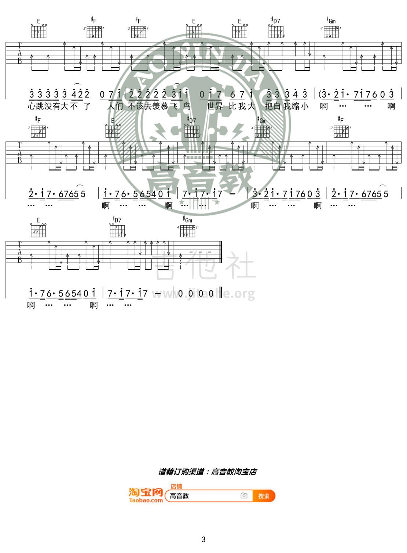 烦恼歌吉他谱(图片谱,弹唱,G调,精华版)_张学友(Jacky Cheung)_《烦恼歌》G调精华版03.jpg