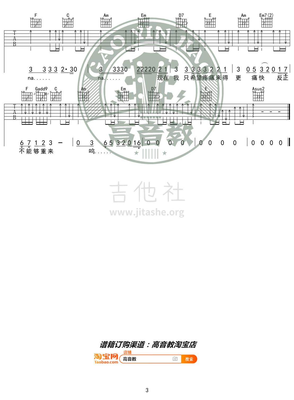 男孩(猴哥吉他教学 高音教编配)吉他谱(图片谱,弹唱,C调,入门版)_梁博_《男孩》C调入门版03.jpg