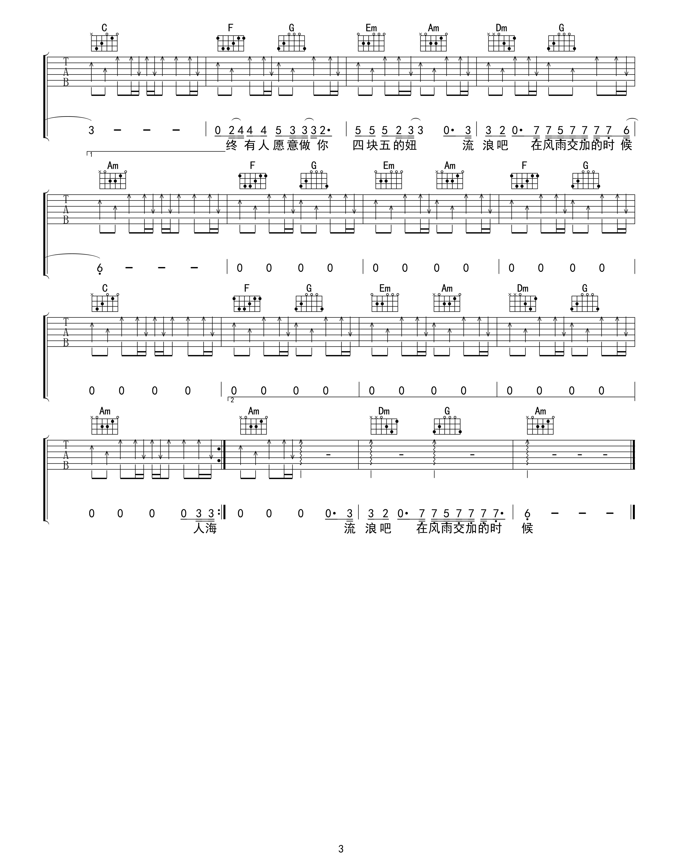 四块五吉他谱(图片谱,弹唱)_隔壁老樊(樊凯杰)_四块五03.jpg