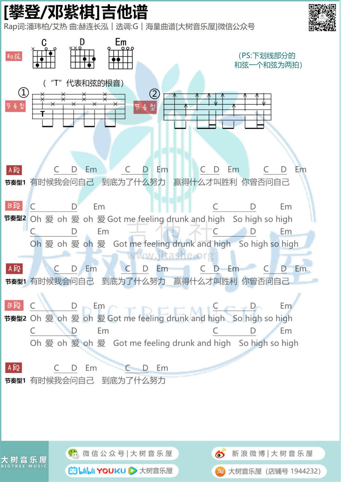 攀登(大树音乐屋)吉他谱(图片谱,弹唱)_邓紫棋(G.E.M.;邓紫棋)_222222.jpg