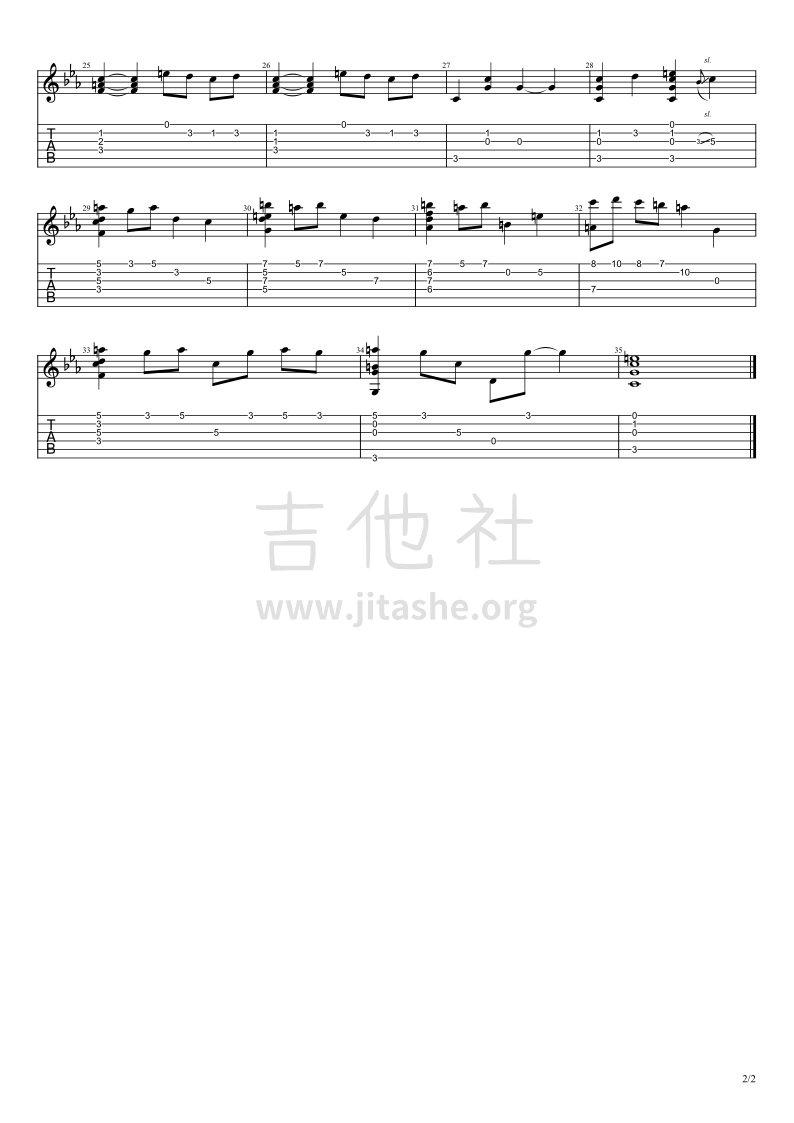 起风了(未完成 武士桑版)吉他谱(图片谱,指弹,武士桑)_武士桑(おさむらいさん;Osamuraisan;543)_起风了【武士桑版】未完成_2.jpg