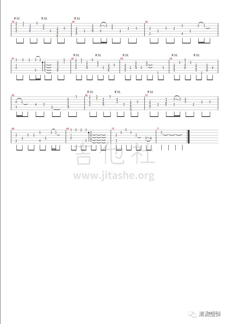 天行九歌吉他谱(图片谱,指弹)_霍尊_九歌3.png