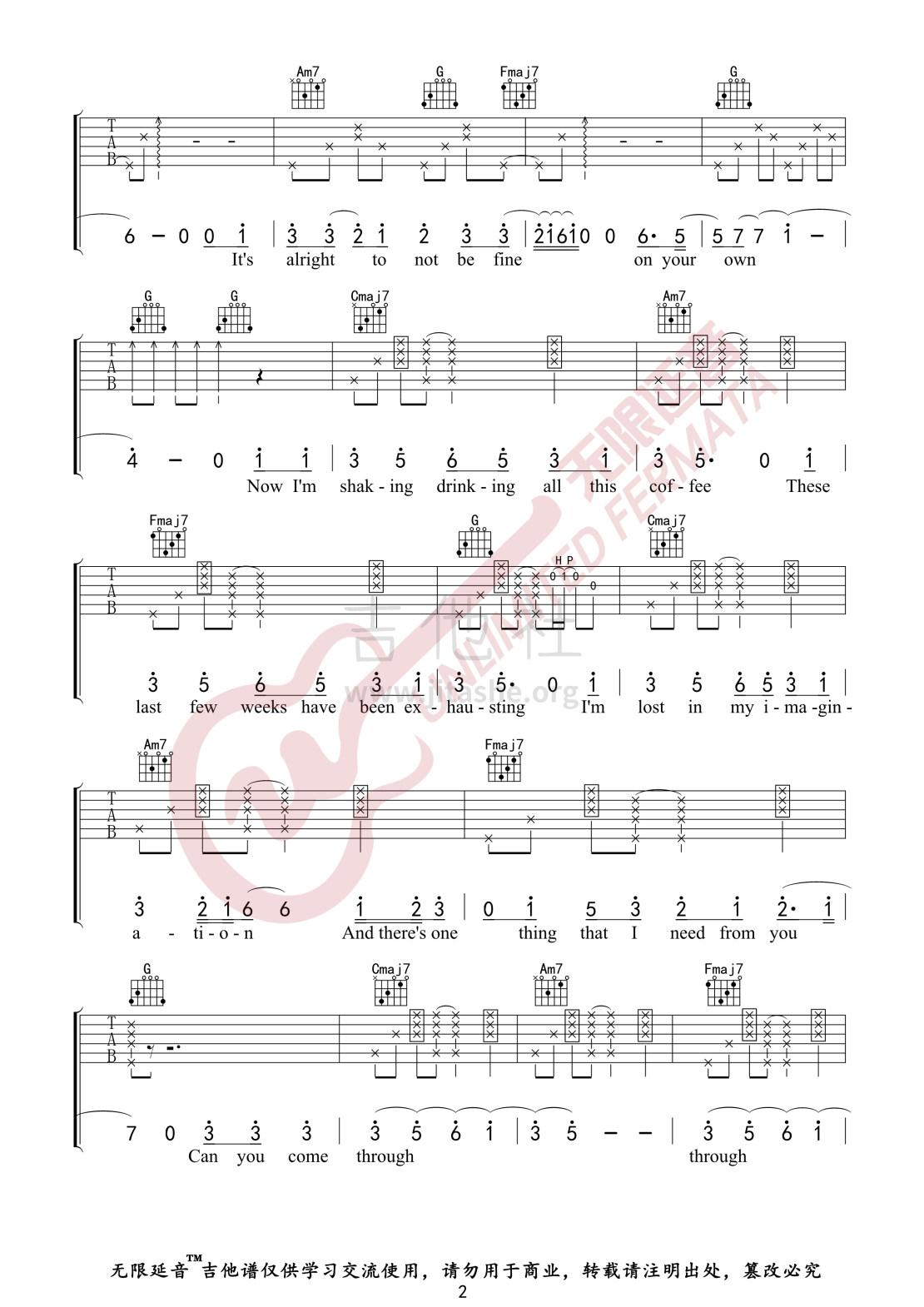 Comethru(无限延音编配)吉他谱(图片谱)_Jeremy Zucker_Comethru02.jpg