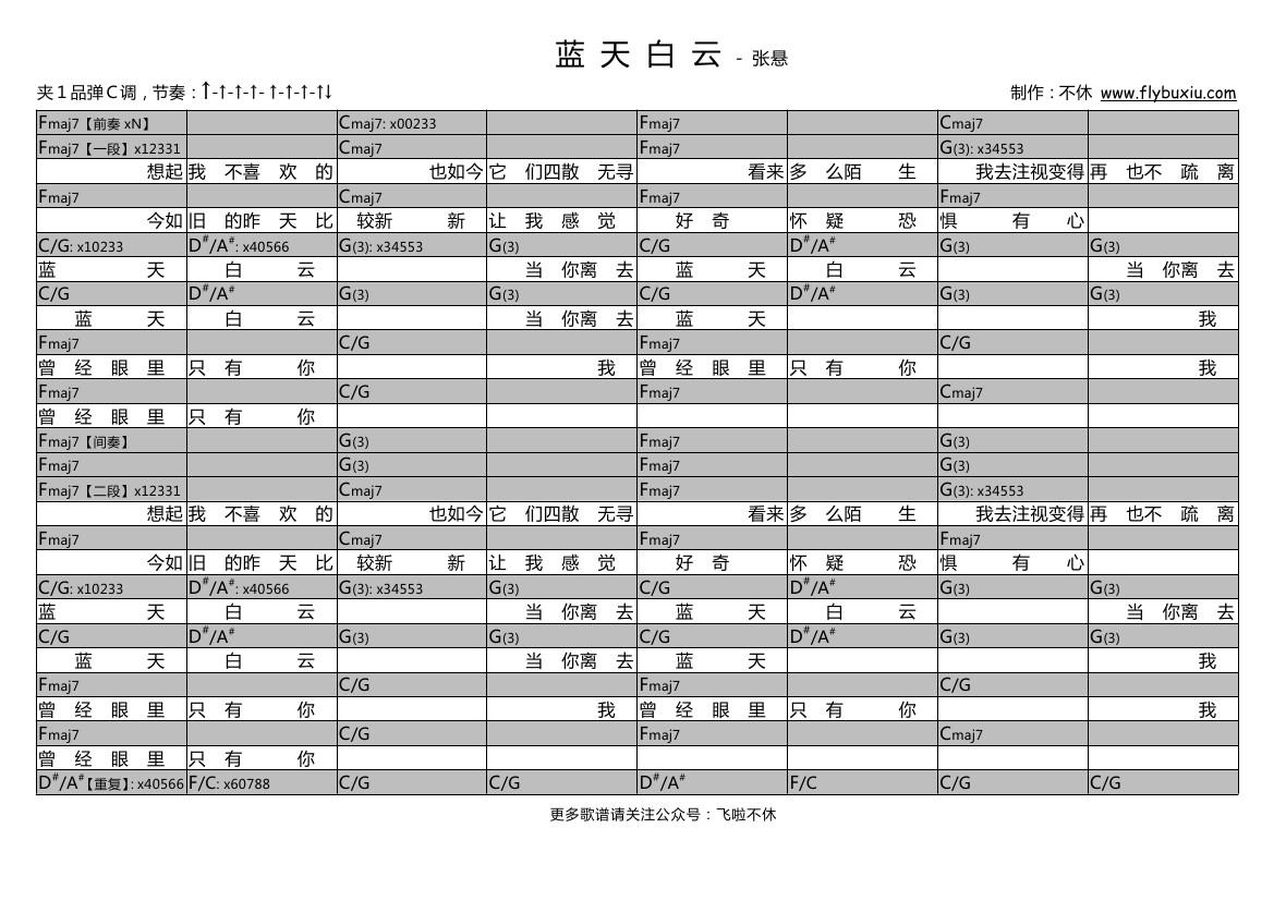 蓝天白云(不休弹唱谱)吉他谱(图片谱,弹唱)_张悬(焦安溥)_张悬-蓝天白云0000.jpg