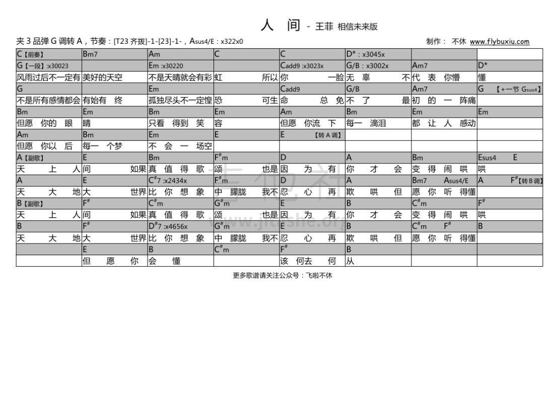 打印:人间 (相信未来版 不休弹唱谱)吉他谱_王菲(Faye Wong)_王菲-人间0000.jpg
