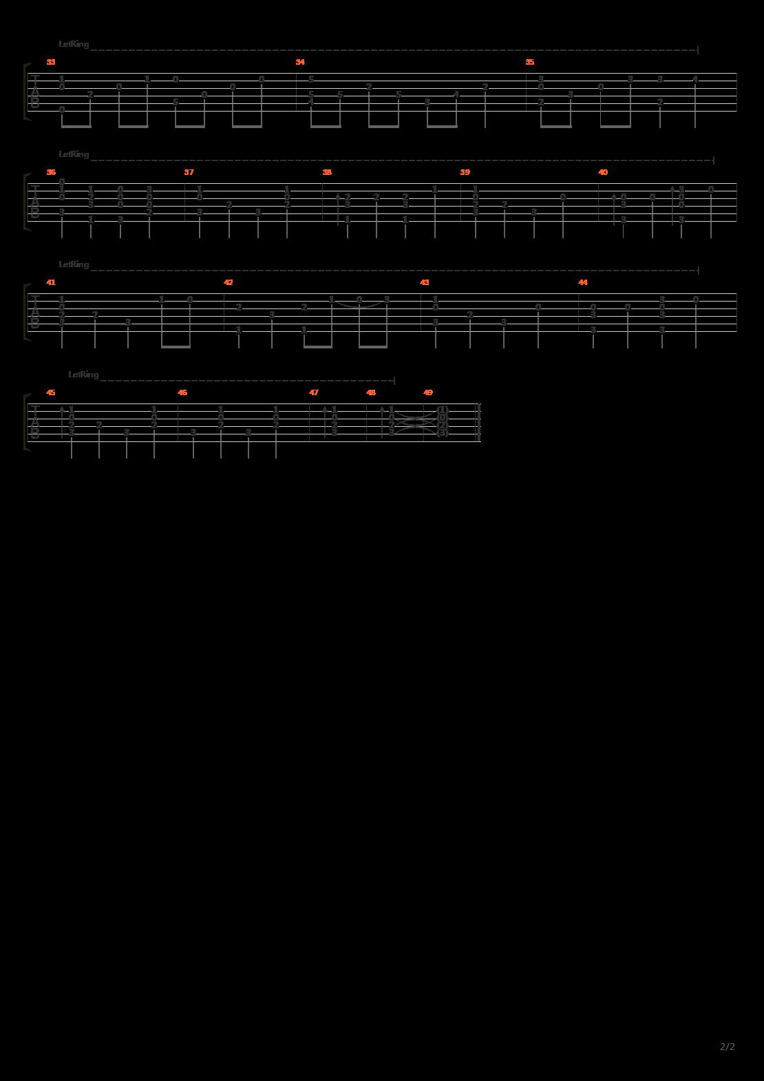 Die Forelle(鳟鱼)吉他谱