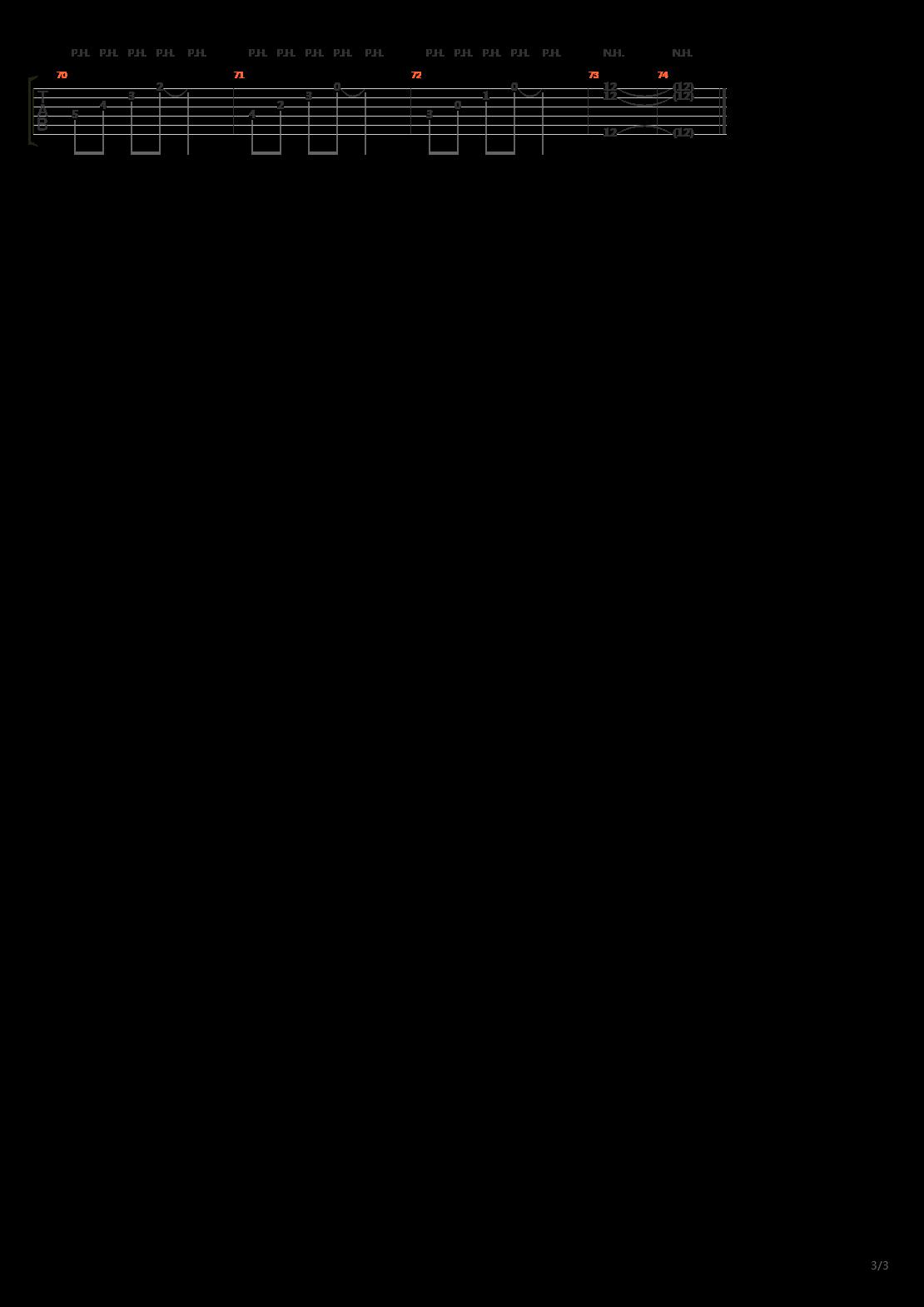 PSYCHO PASS(心理测量者) - Importance of Life吉他谱