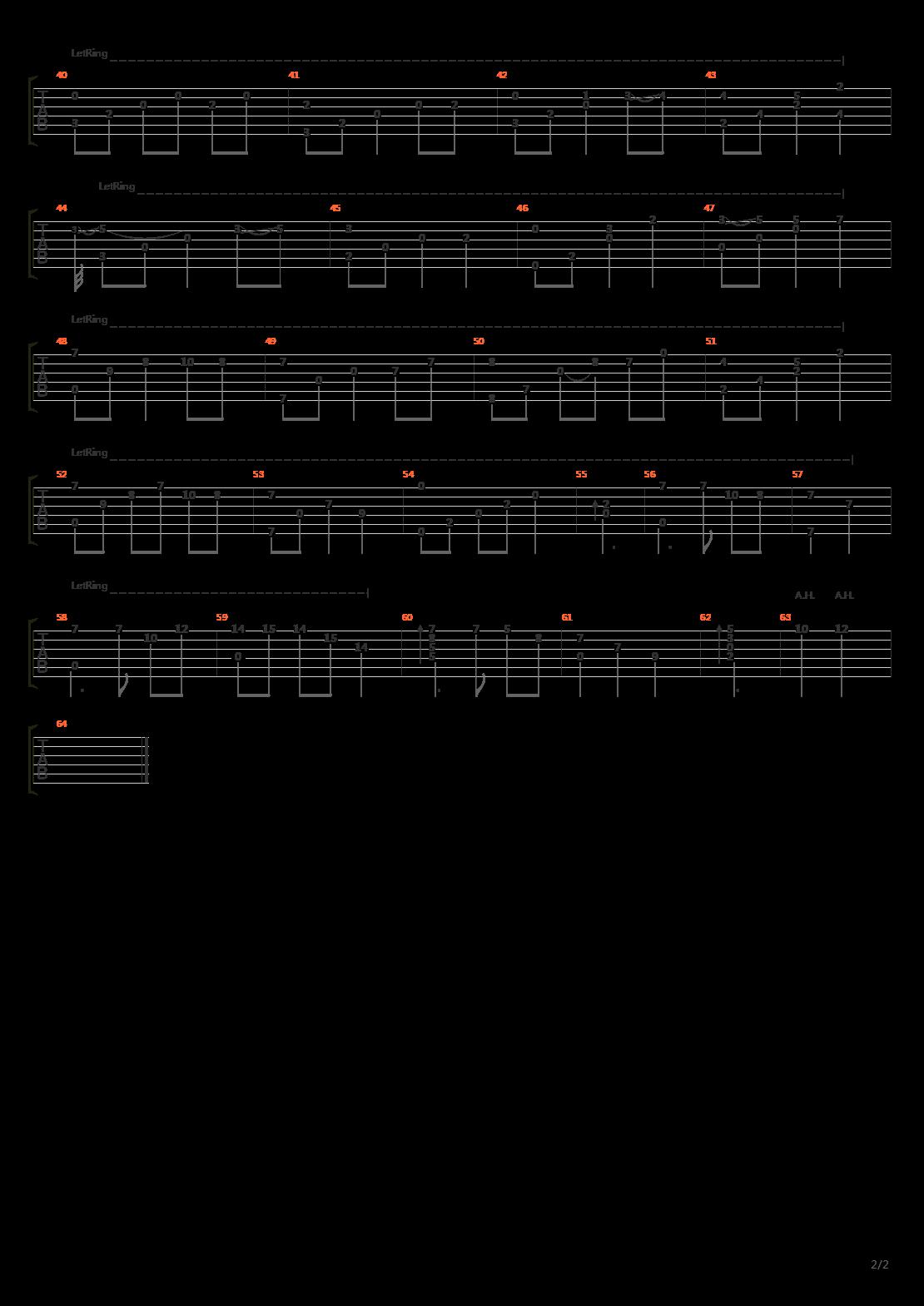 缘之空插曲记忆简谱_缘之空-记忆吉他谱(gtp谱)_三轮学(三輪学 / Manack / Manabu Miwa)