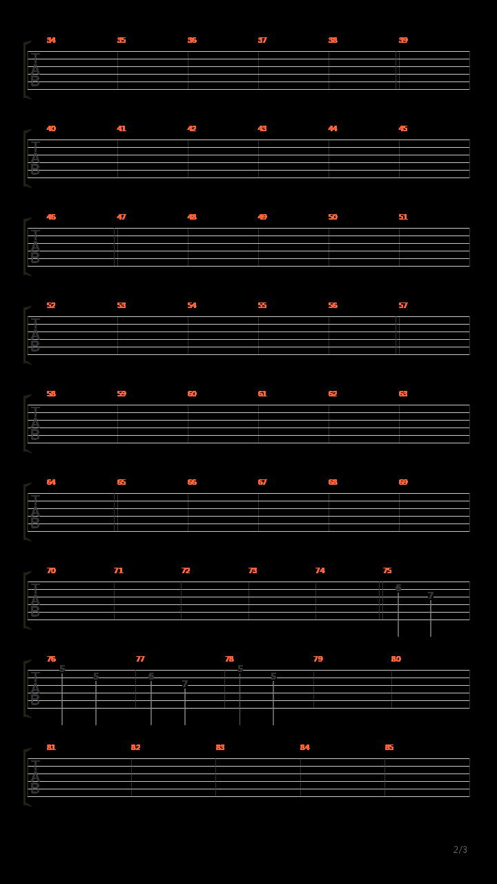 21 Guns(格莱美版)吉他谱