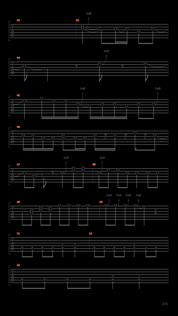 远走高飞(金志文版乐队总谱)吉他谱