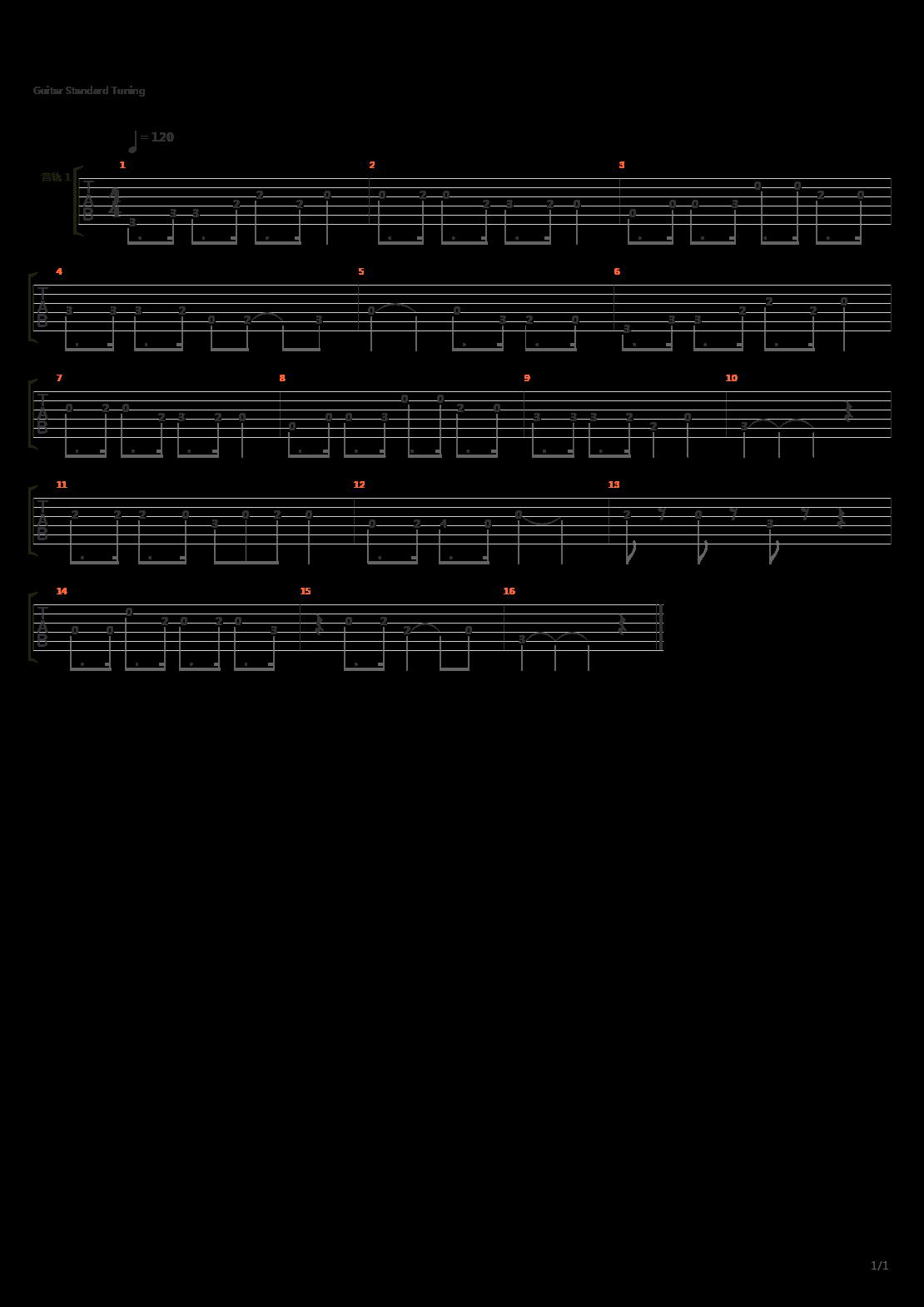 机器猫(哆啦A梦 小叮当)吉他谱