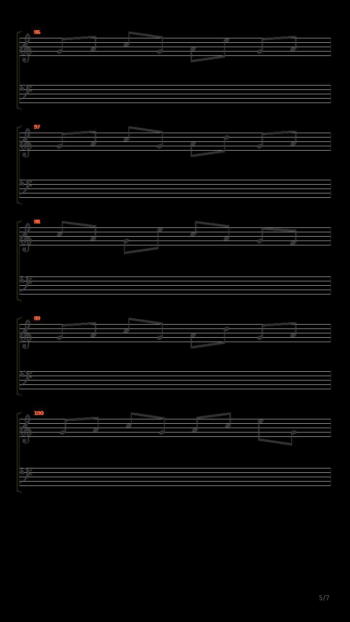 乌木吉他谱