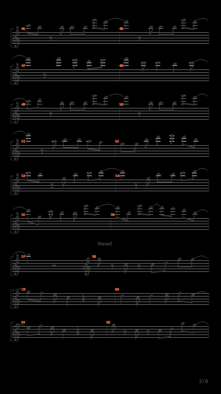 METEOR - DIVELA/初音ミク(初音未来)吉他谱