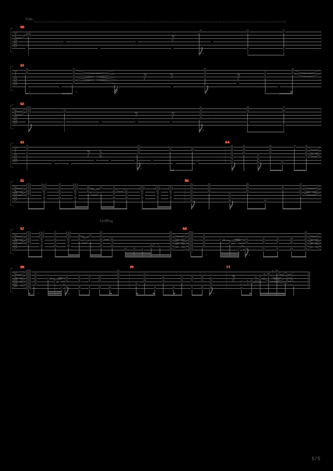 鲁邦三世OP「ルパン三世のテーマ'80」吉他谱