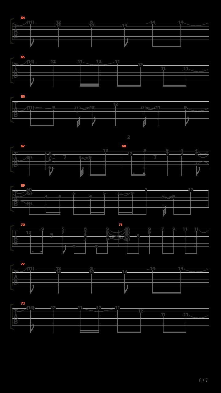 Komorebi吉他谱