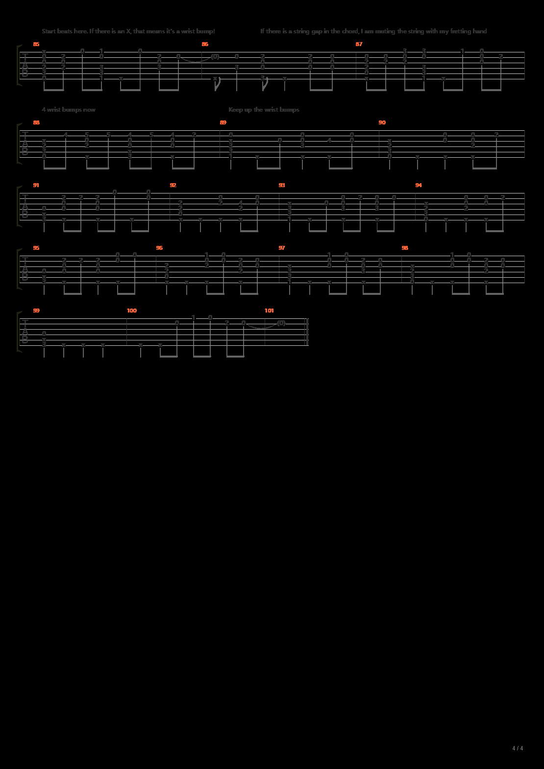 天气之子 - Grand Escape(グランドエスケープ)吉他谱
