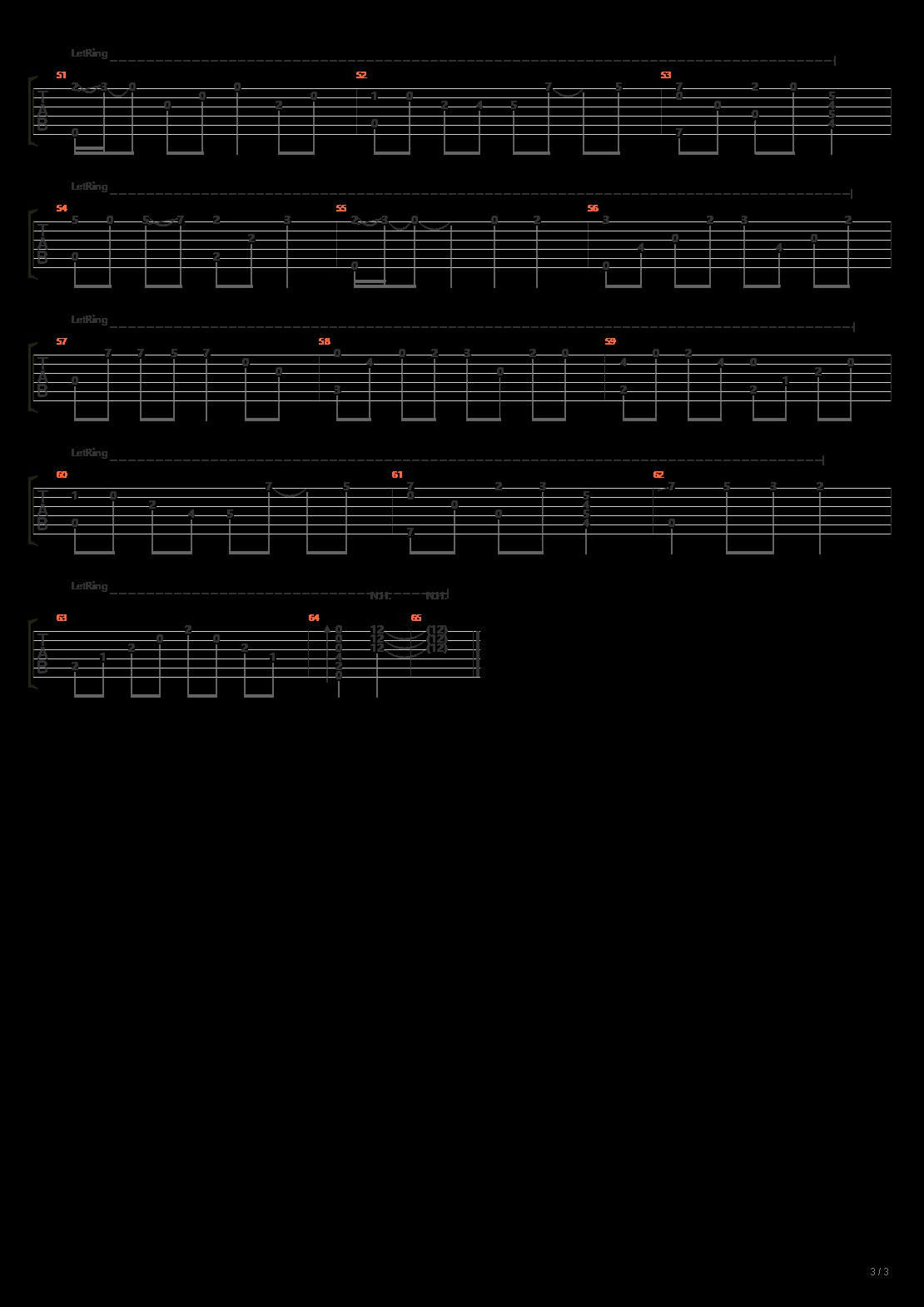 消愁(指弹版)吉他谱