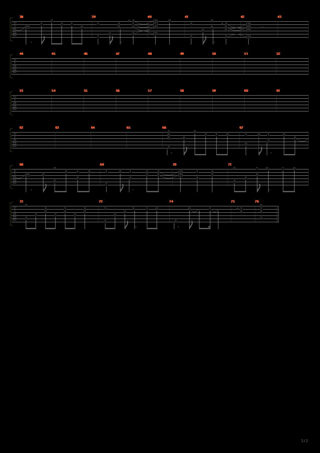 ジユウノハネ Piano arrangement吉他谱