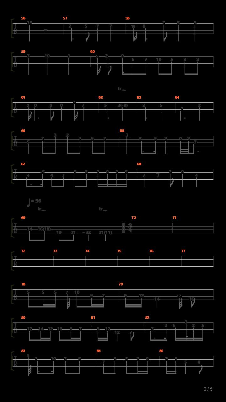 幸福年 【板胡】 拟原版吉他谱