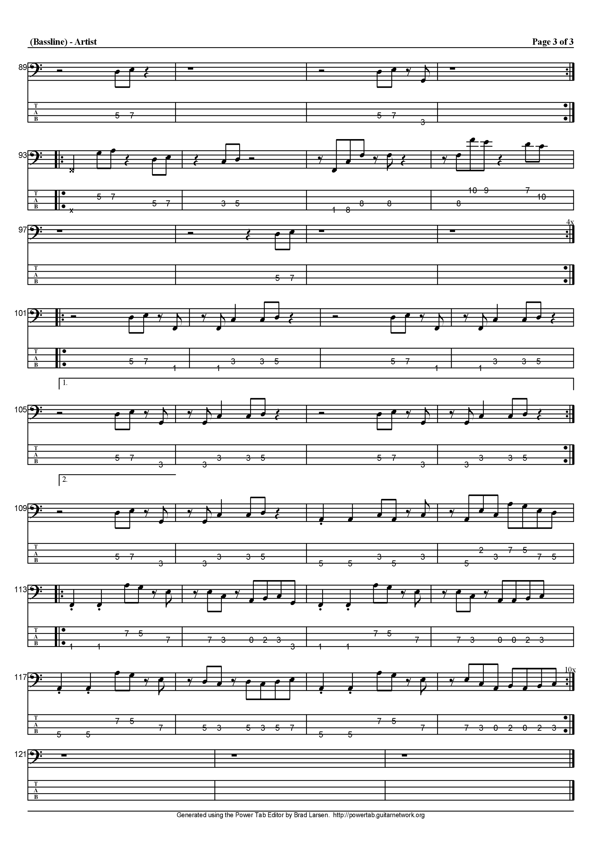 ムーンライト銀河吉他谱3