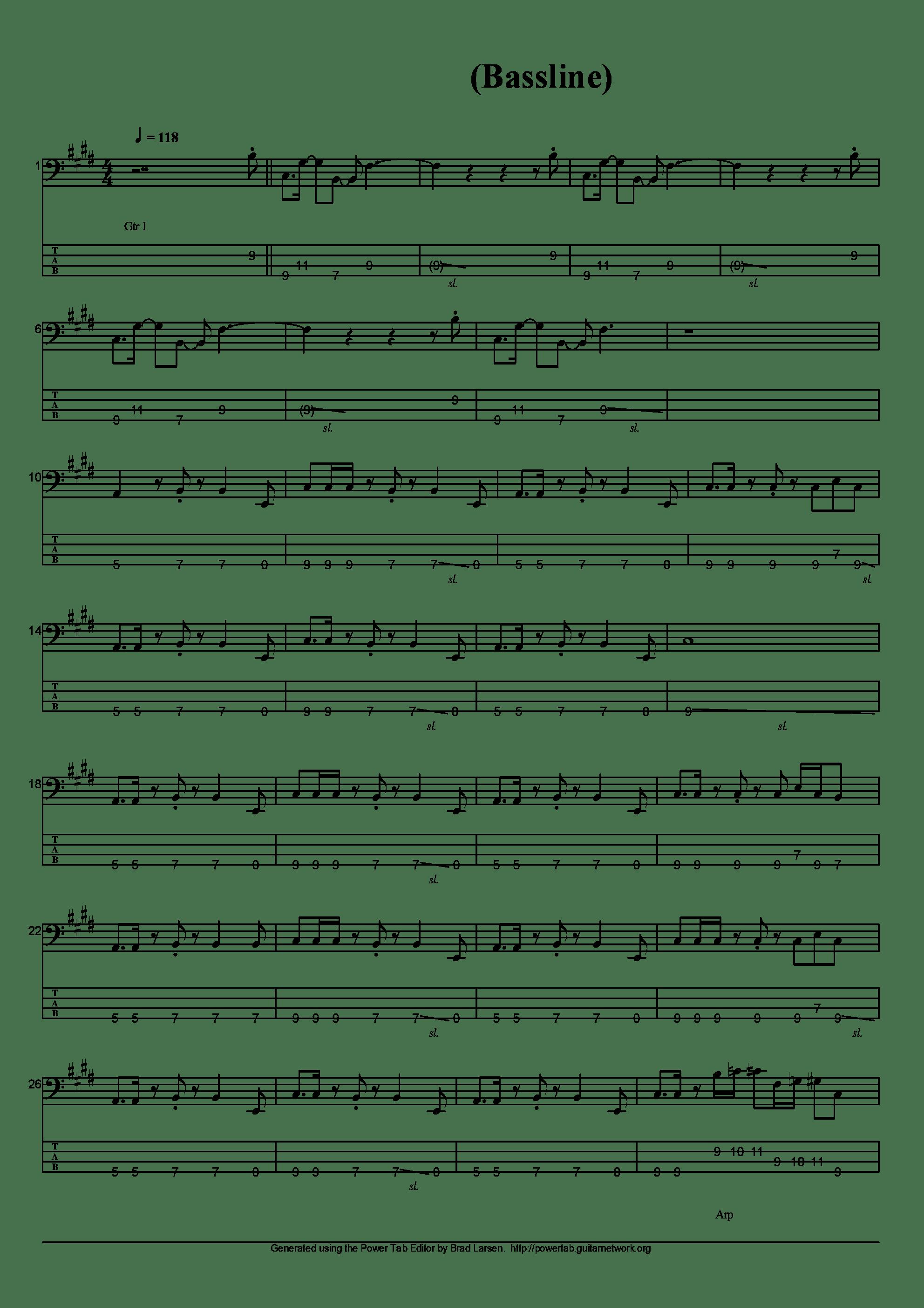 ルネサンス吉他谱1