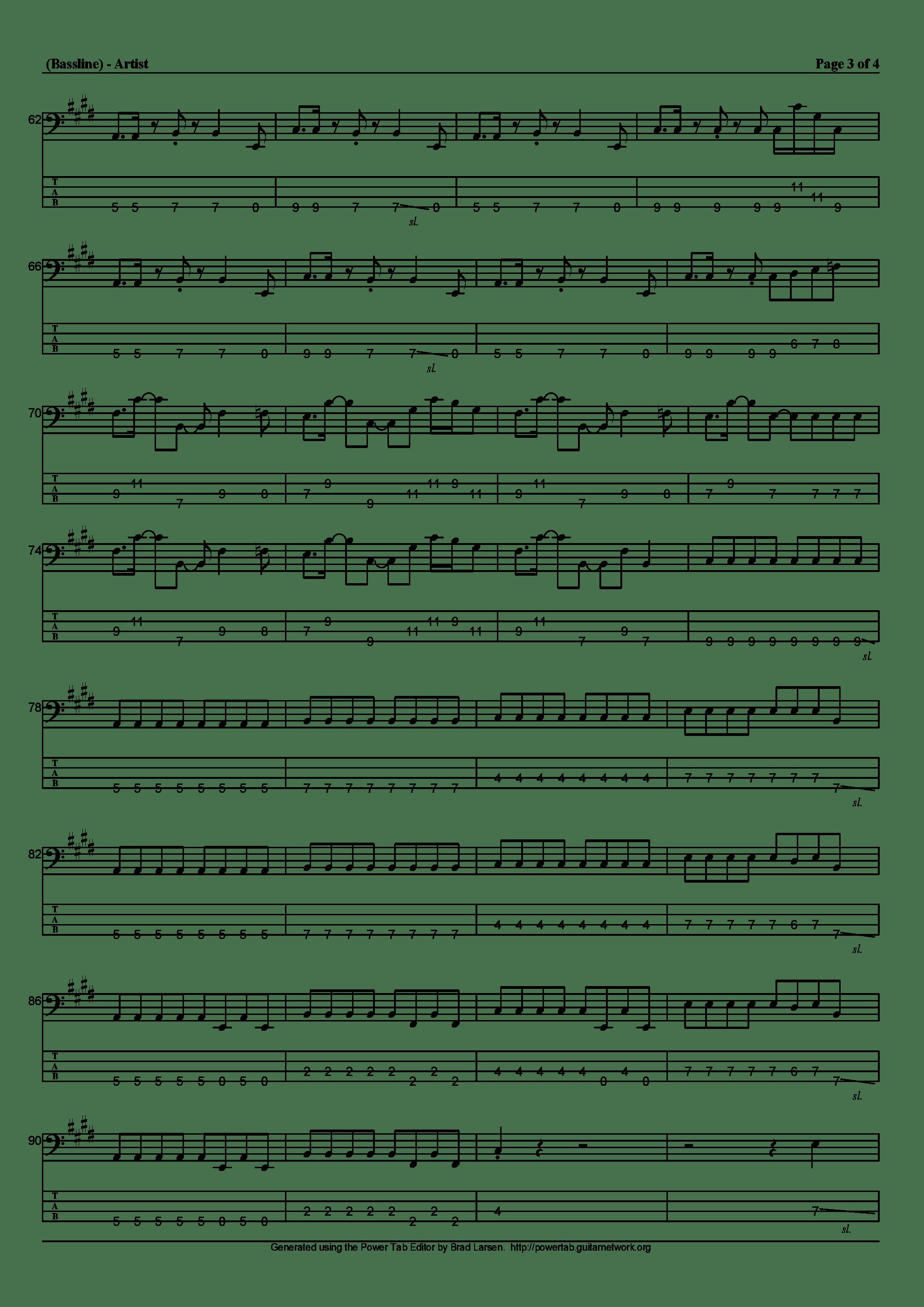 ルネサンス吉他谱3