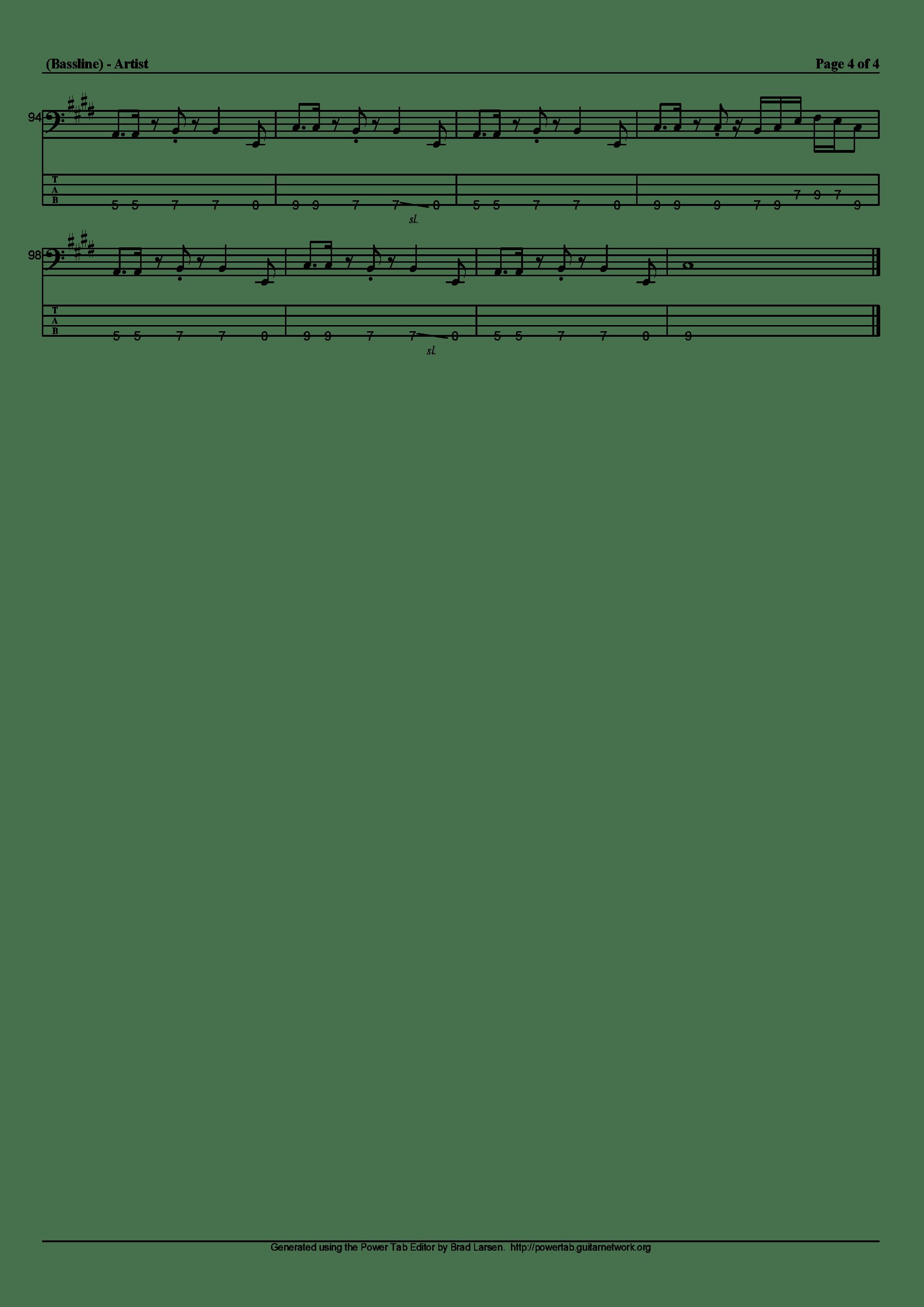 ルネサンス吉他谱4