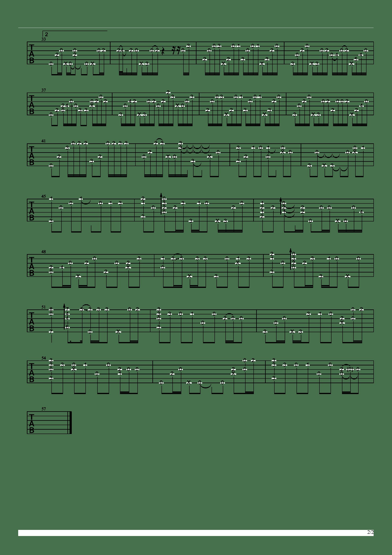 メトロノーム Metronome吉他谱2