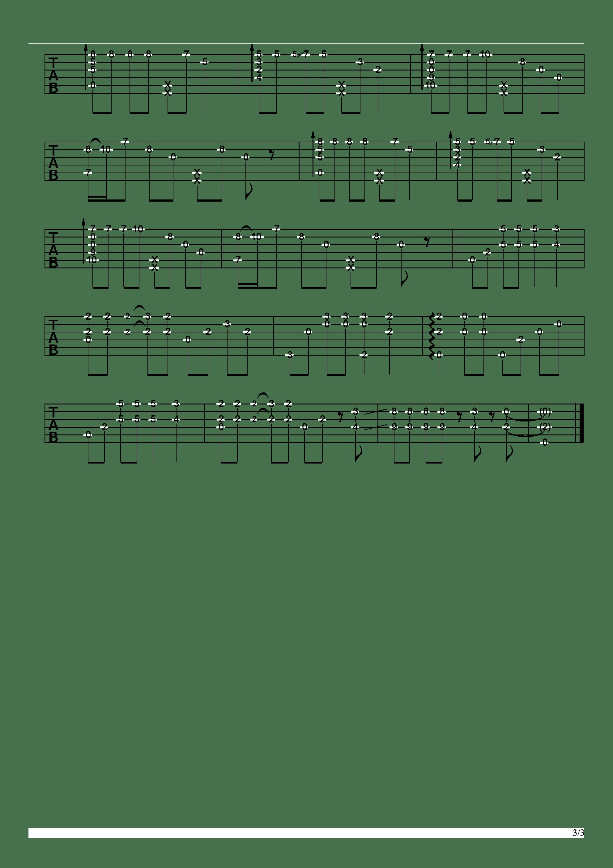 Shallow(Ladygaga电影A Star Is Born)吉他谱3