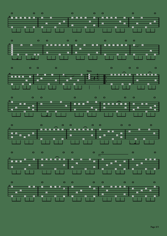 擦肩而过吉他谱2