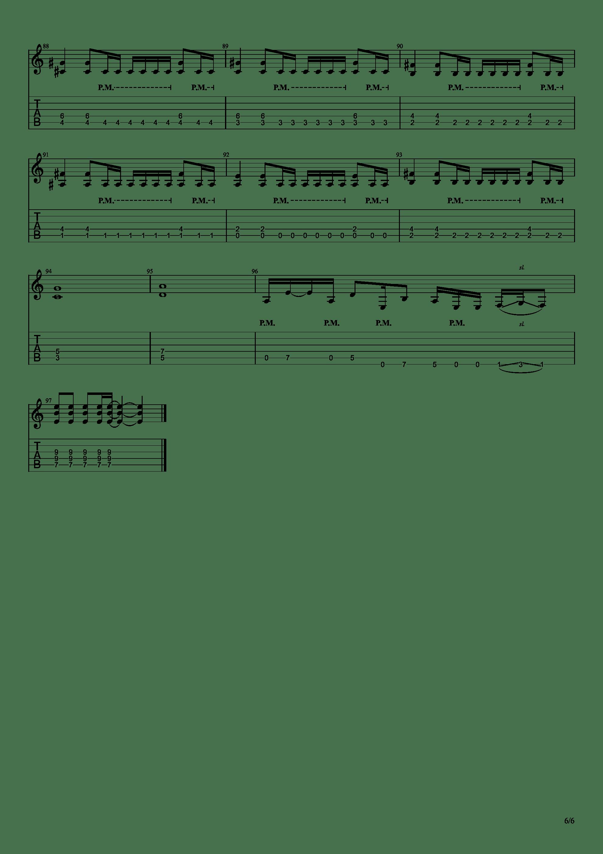 假面骑士Amazons主题曲 - Armour Zone吉他谱6