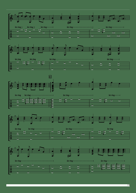 聪明的一休哥(墨音堂编曲)吉他谱2
