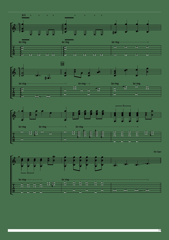 聪明的一休哥(墨音堂编曲)吉他谱3