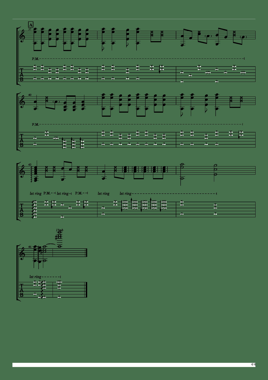 聪明的一休哥(墨音堂编曲)吉他谱4