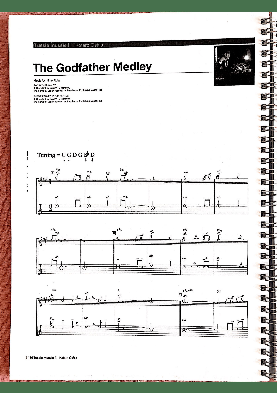 The Godfather Medley(押尾专辑版)吉他谱1