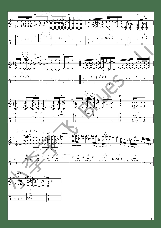 Kalung Emas (狠人哥Alip_ba_ta cover)吉他谱5
