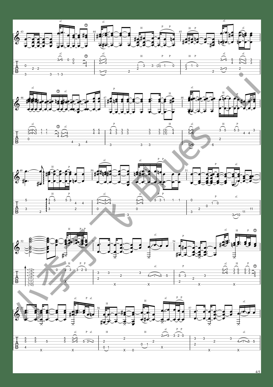 Insya Allah(狠人哥Alip_ba_ta cover)吉他谱4
