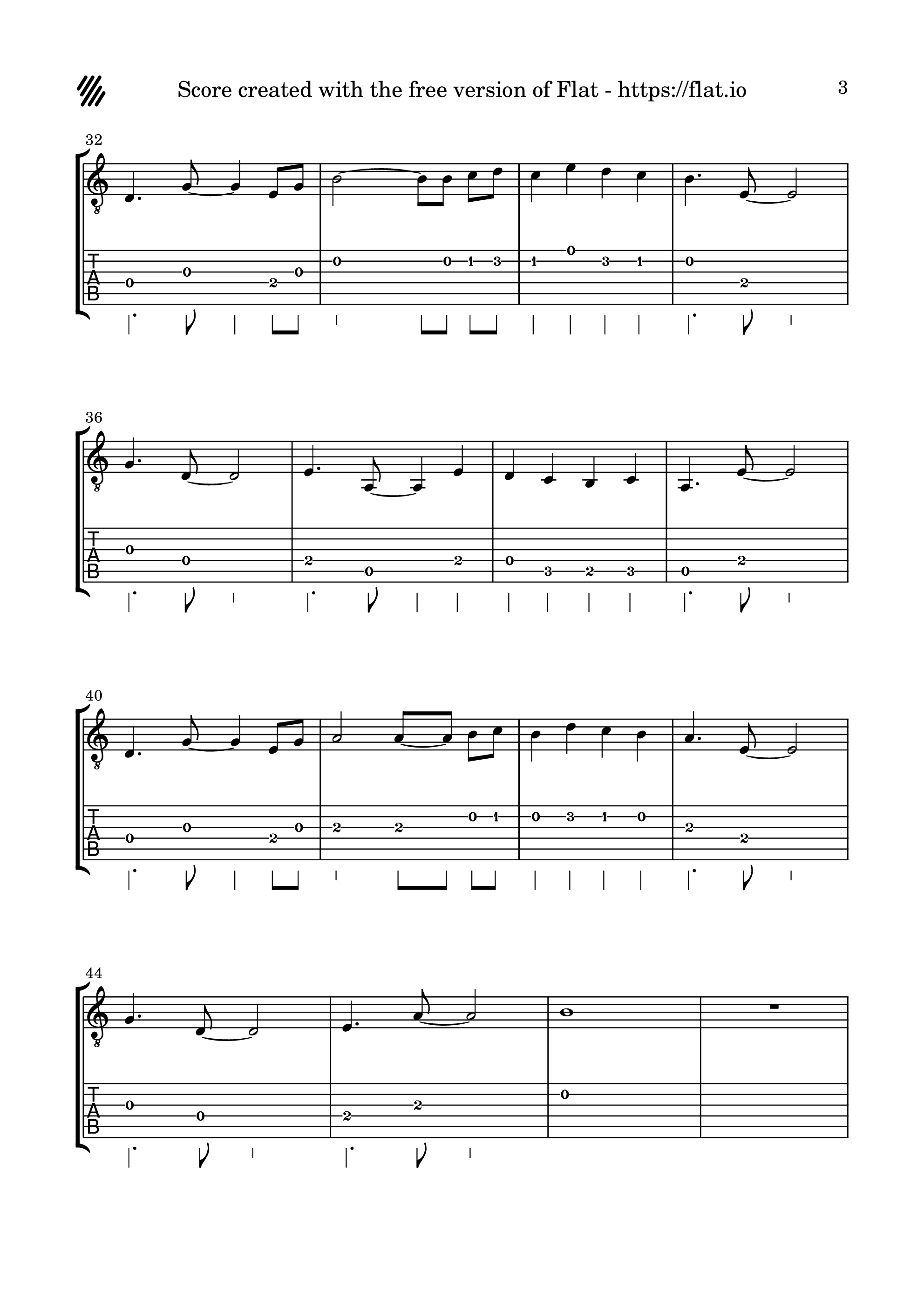 東方夢時空-Sailor of Time吉他谱3