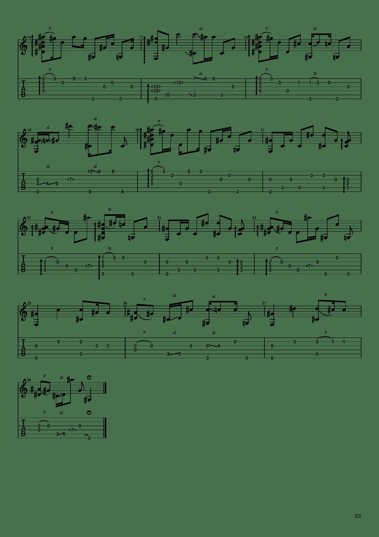 Rubia - 崩坏3印象曲吉他谱2