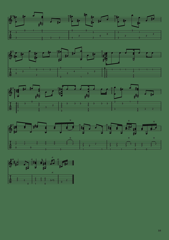 魔法使的新娘 - Here吉他谱3